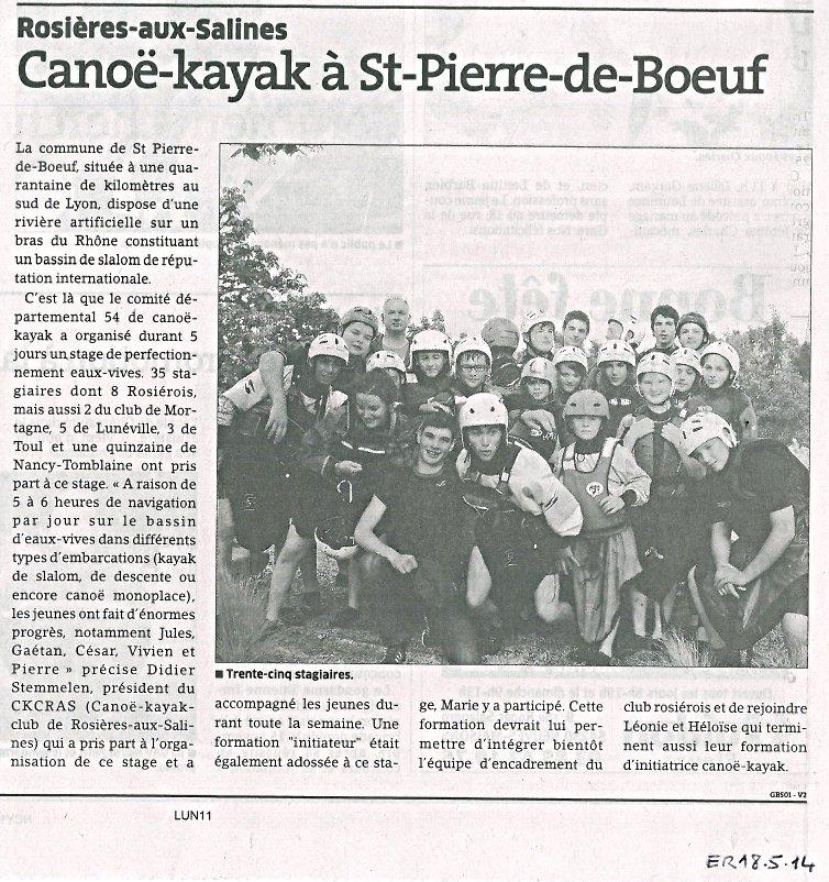 Stage Kayak ER 18 05 2014